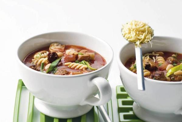 Italian meal-tomato soup