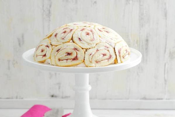raspberry curd cheese pie