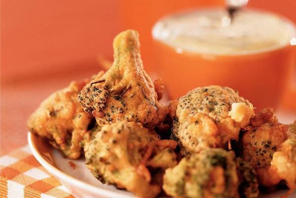 broccoli fritots with rucola chicken