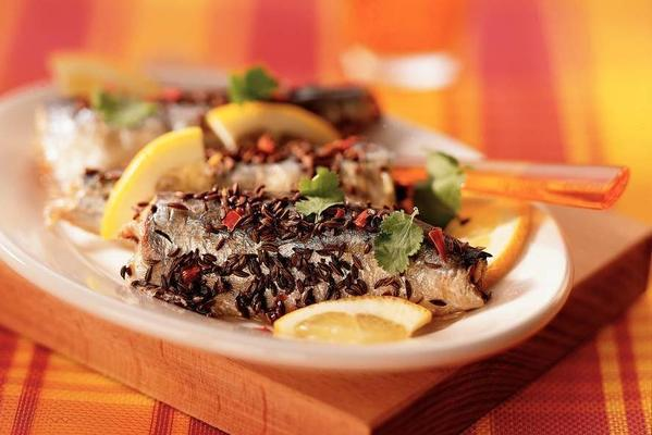 sardines in coriander-chilimix
