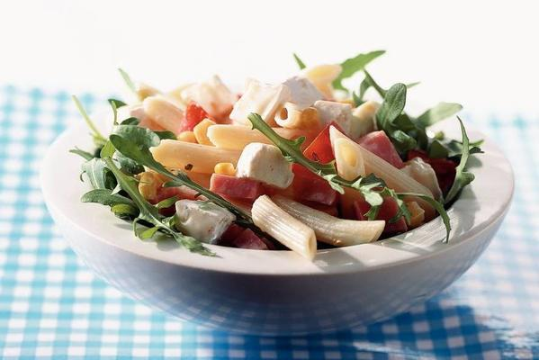 pasta salad with brie