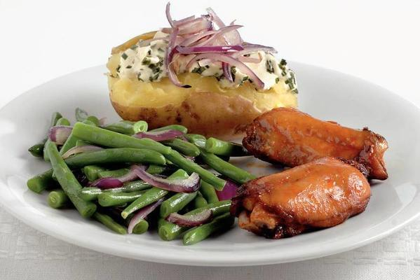 chicken spareribs with roasted potatoes