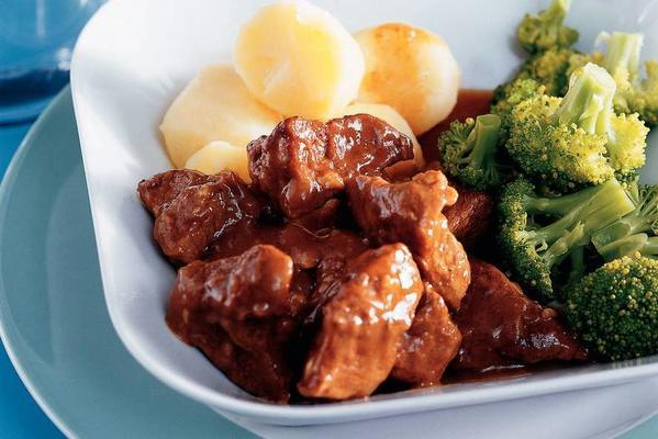 stew with veal