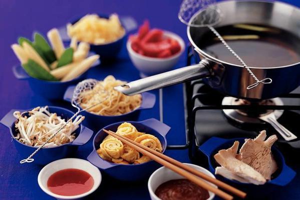 Chinese vegetable food
