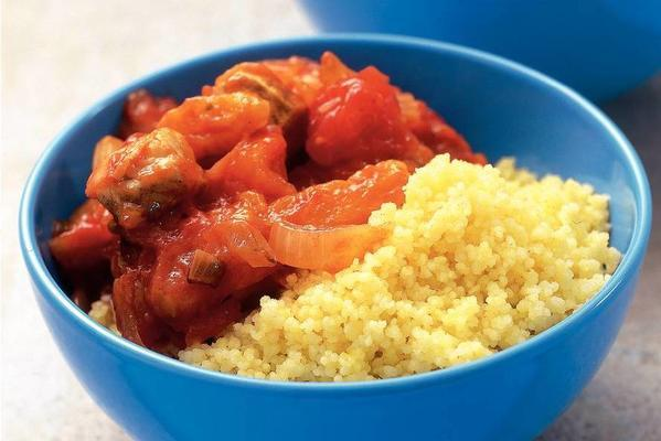 couscous with chicken and apricots