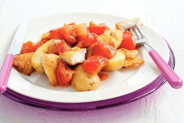 fish stew with tomatoes and rosemary