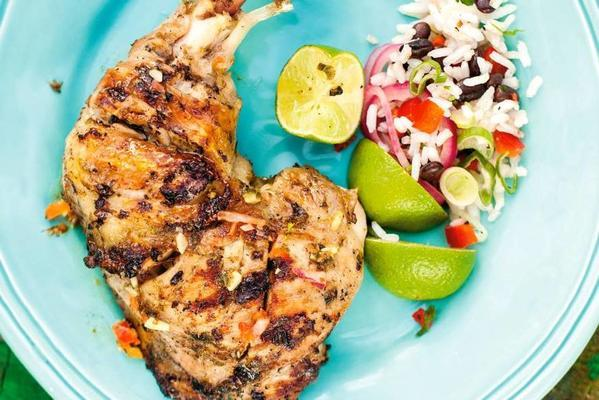 chicken bolts with lime