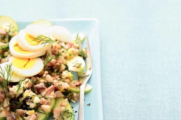 Grandma's herring salad