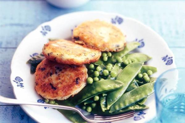 potato cookies with summer vegetables