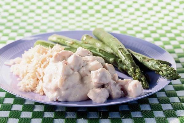 creamy chicken ragout