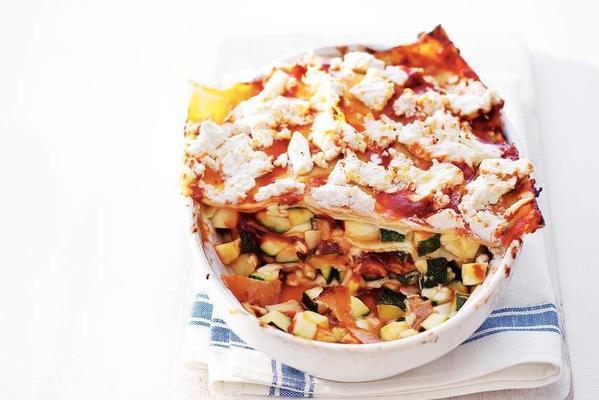 zucchini ricotta lasagne