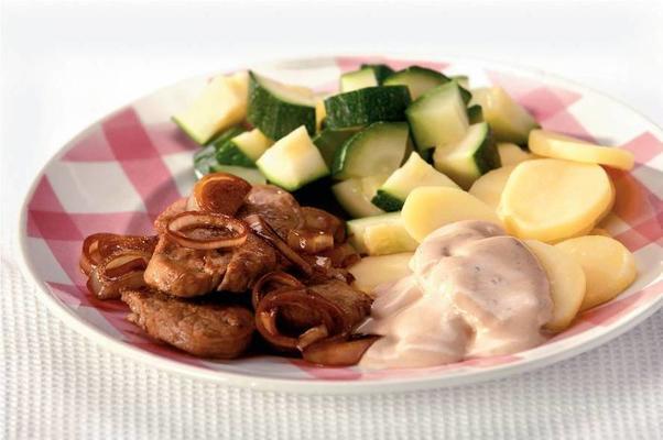 pork tenderloin with lemon cream sauce
