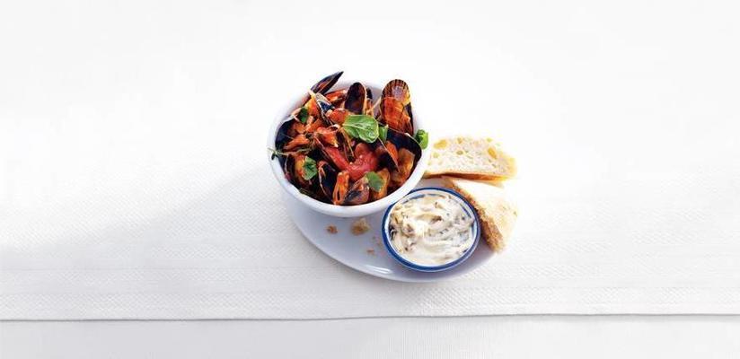 mussels in a zeeuwse manner