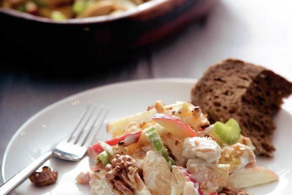 fast waldorf salad