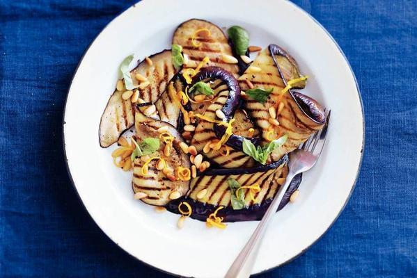 fresh eggplant salad