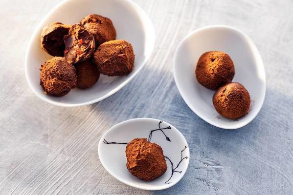 spicy truffles