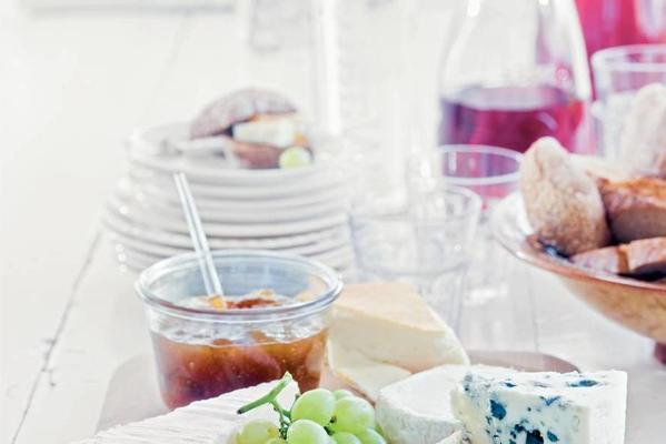 craft French cheese board