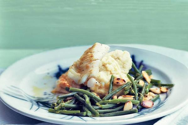 cod with haricots verts
