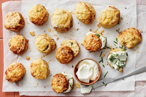 savory scones with Trappist cheese