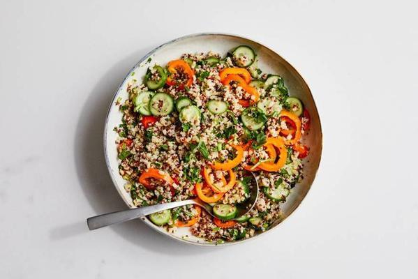 quinoa-bulgertabouleh