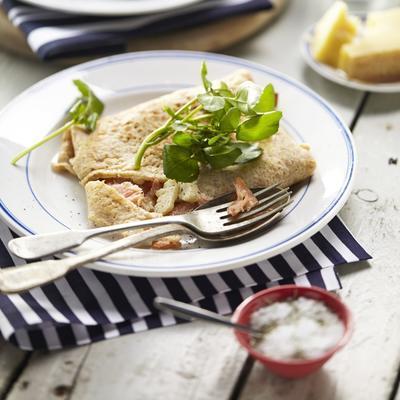 galette bretonne au artichaut et saumon