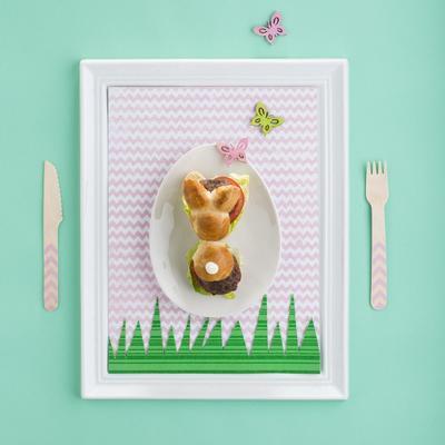 rabbit burger