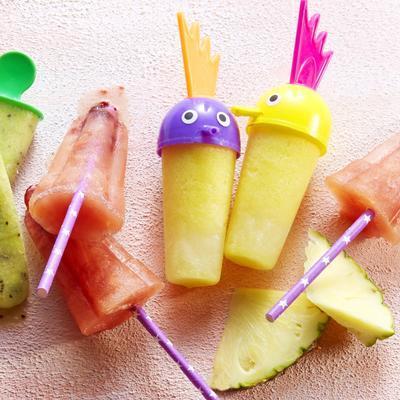 sorbet ice cream pineapple