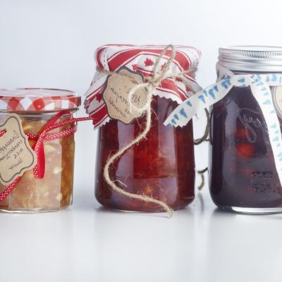 forest fruit jam with rosemary