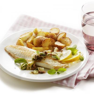roasted tilapia with fennel salsa