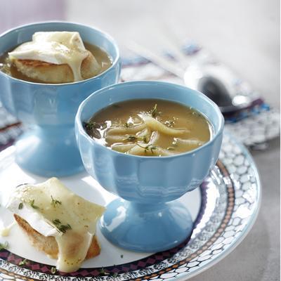 Parisian onion soup