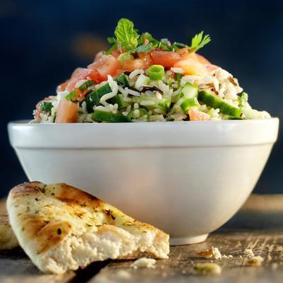 lebanese rice salad
