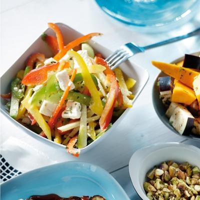 fruity pepper salad