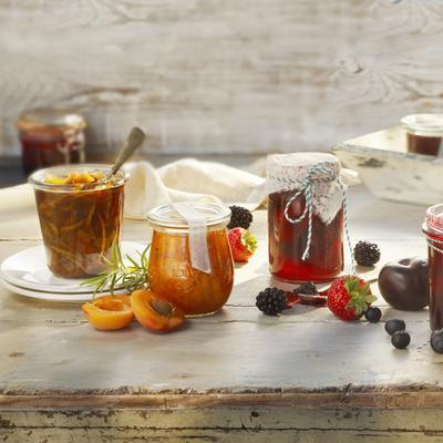 strawberry-blackberry jam