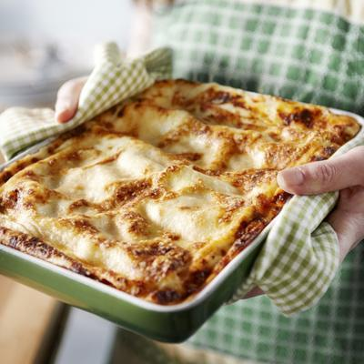 lasagna with grilled vegetables and ricotta