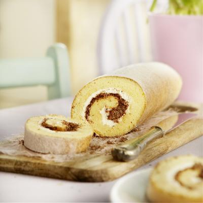 creamy biscuit roll