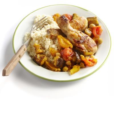 Moroccan chicken dish