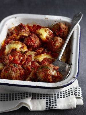gratin meatballs