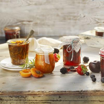 apricot jam with rosemary