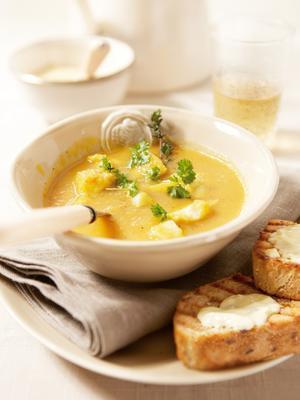 light fish soup