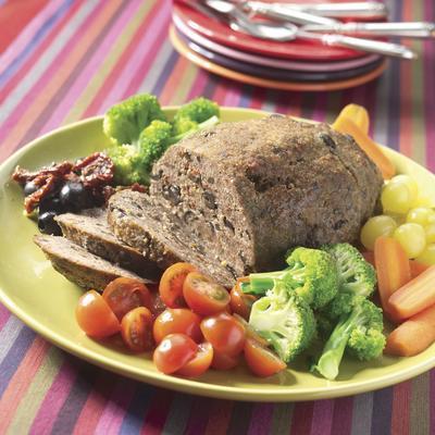 stuffed tuscan meatloaf