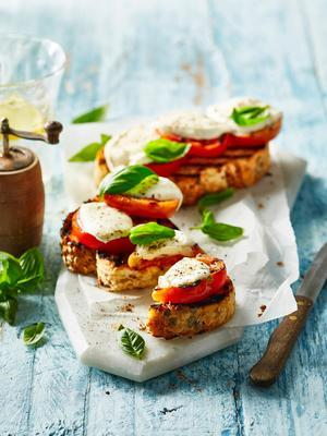 caprese of the grill