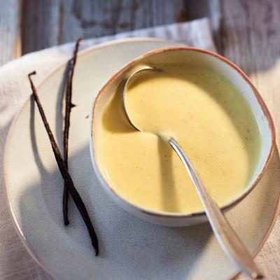 Vanilla sauce