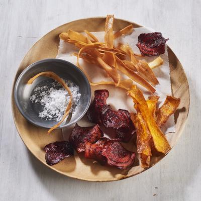 cooking technique: vegetable chips