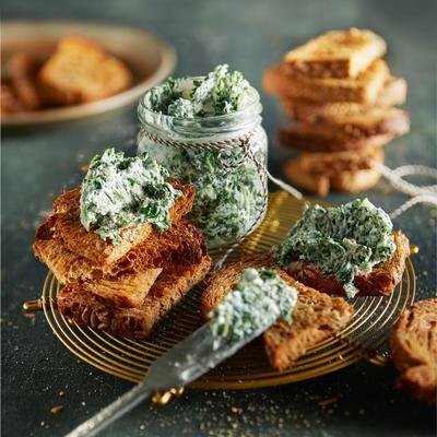 spicy kale dip