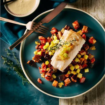 whitefish with caponata