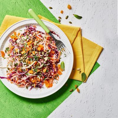rainbow coleslaw