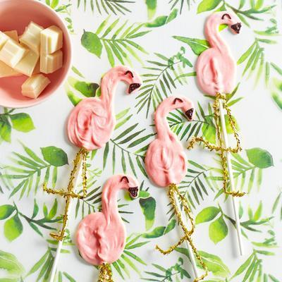 flamingo chocolate chips