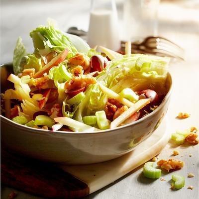 waldorf wedge salad