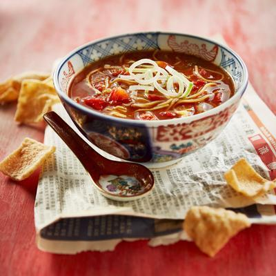chinese tomato soup with ginger