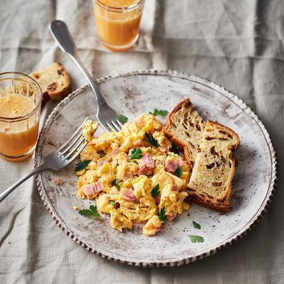 quick scrambled eggs